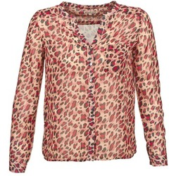 Kleidung Damen Langärmelige Hemden Best Mountain AZARI Beige / Rot