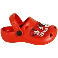 Schuhe Mädchen Pantoffel Disney Minnie Mouse 2301-1119 Rojo