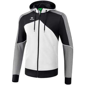 Kleidung Herren Trainingsjacken Erima Veste à capuche  Premium One 2.0 blanc/bleu/noir