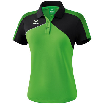 Kleidung Damen Polohemden Erima Polo femme  Premium One 2.0 vert/noir/blanc