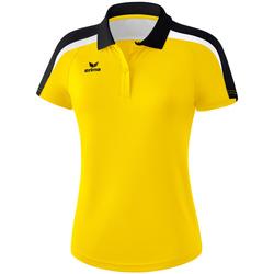 Kleidung Damen Polohemden Erima Polo femme  Liga 2.0 jaune/noir/blanc