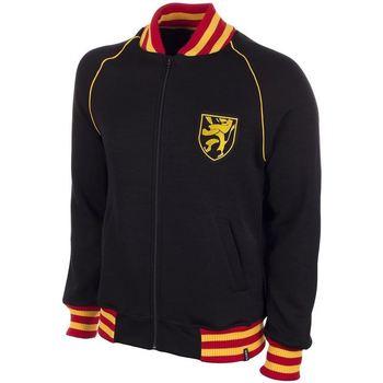 Kleidung Herren Sweatshirts Copa Football Sweat zippé Belgique 1960's noir/jaune/rouge