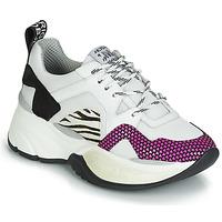 Schuhe Damen Sneaker Low Meline ARGAGALI Weiss / Schwarz