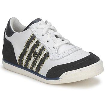 Schuhe Kinder Sneaker Low Hip ARCHIK Weiss / Blau