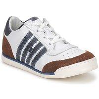 Schuhe Kinder Sneaker Low Hip ARCHIK Weiss / Braun
