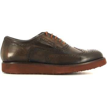 Schuhe Herren Derby-Schuhe Lion 10961 Lace-up heels Man Tan Tan