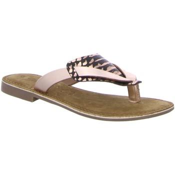 Schuhe Damen Sandalen / Sandaletten Diverse Pantoletten Pantl-bis30mm-Abs 1004893 rosa