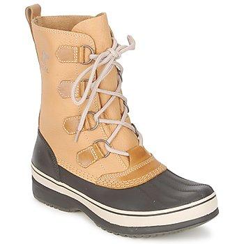 Schuhe Herren Schneestiefel Sorel KITCHENER CARIBOU Curry