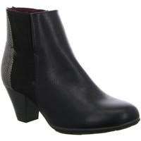 Schuhe Damen Low Boots Diverse Stiefeletten Schlupf/RV-St.Sp-Bod 1006039 schwarz