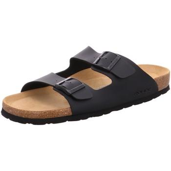 Schuhe Herren Pantoffel Rohde Offene 5920/90 schwarz