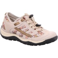Schuhe Damen Sneaker Low Tempora Slipper 246011 246011 beige
