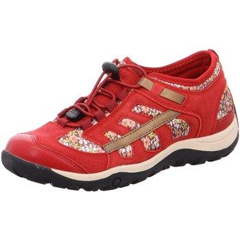 Schuhe Damen Sneaker Low Tempora Slipper 24601109500 rot