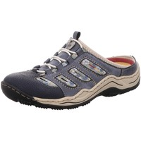 Schuhe Damen Pantoletten / Clogs Rieker Pantoletten Sabot/Clog L0555-16 blau