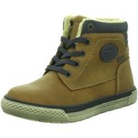 Schuhe Jungen Boots Montega Schnuerstiefel rust 3761602 00066 braun