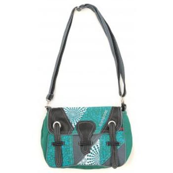 Taschen Damen Umhängetaschen Bamboo's Fashion Petit Sac Besace Dublin GN-154 Vert Grün