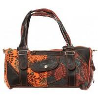 Taschen Damen Umhängetaschen Bamboo's Fashion Sac à main Doha GN-146 Orange/Marron Orange