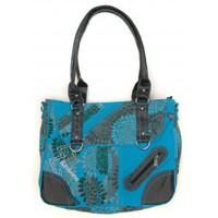 Taschen Damen Umhängetaschen Bamboo's Fashion Petit Sac Besace Sydney GN-147 Bleu Blau