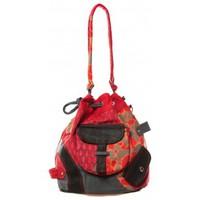 Taschen Damen Umhängetaschen Bamboo's Fashion Sac cabas Barcelone GN-1411 Rouge Rot