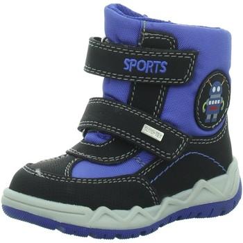Schuhe Jungen Schneestiefel Supremo Klettstiefel 5830203,black-royal 5830203 00053 schwarz