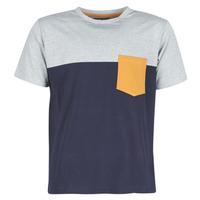 Kleidung Herren T-Shirts Casual Attitude JERMENE Grau / Marine