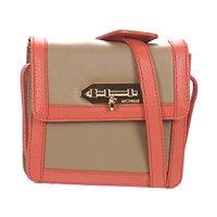 Taschen Damen Geldtasche / Handtasche MySuelly LOLA Maulwurf / Korallenrot