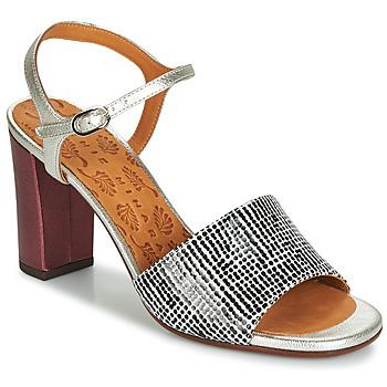 Schuhe Damen Sandalen / Sandaletten Chie Mihara PARIGI Silbern / Schwarz