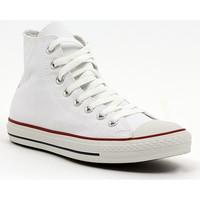 Schuhe Herren Sneaker High Converse ALL STAR HI  OPTICAL WHITE Multicolore