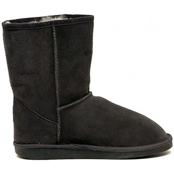 Schuhe Mädchen Boots EMU WALLABY  LO CHARCOAL     74,4