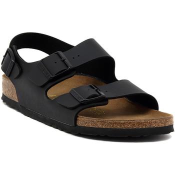 Schuhe Sandalen / Sandaletten Birkenstock MILANO SCHWARZ Multicolore