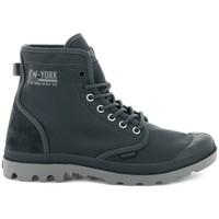 Schuhe Herren Sneaker High Palladium Manufacture Solid Ranger Nyc Grau