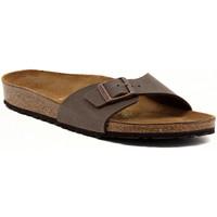 Schuhe Damen Pantoffel Birkenstock MADRID  MOCCA     78,8