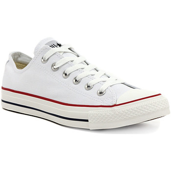 Schuhe Mädchen Sneaker Low Converse ALL STAR OPTICAL WHITE OX Multicolore