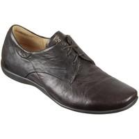 Schuhe Herren Derby-Schuhe Think Schnuerschuhe 3-000275-3000 braun