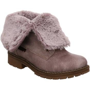 Schuhe Damen Schneestiefel Rieker Stiefeletten Y9122-42 42 grau