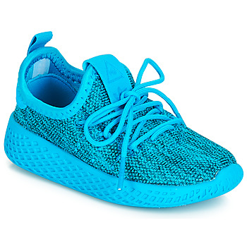 Schuhe Kinder Sneaker Low adidas Originals PW TENNIS HU I Blau