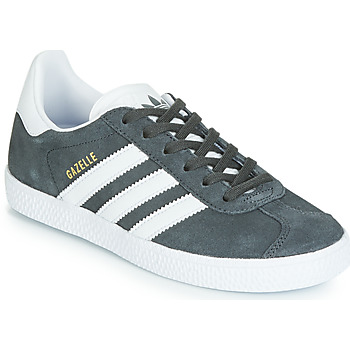 Schuhe Kinder Sneaker Low adidas Originals GAZELLE C Grau