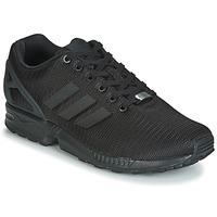 Schuhe Herren Sneaker Low adidas Originals ZX FLUX Schwarz