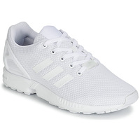 Schuhe Kinder Sneaker Low adidas Originals ZX FLUX C Weiss