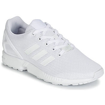 Schuhe Kinder Sneaker Low adidas Originals ZX FLUX J Weiss