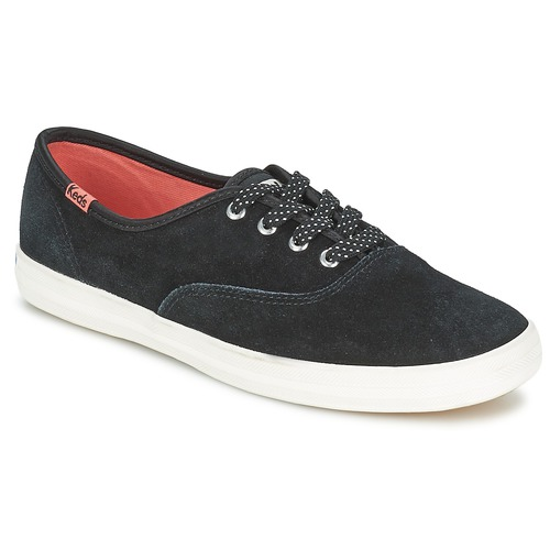 keds champion suede schwarz schuhe sneaker low damen 39 90. Black Bedroom Furniture Sets. Home Design Ideas
