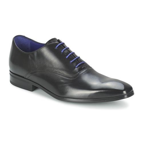 Schuhe Herren Richelieu Azzaro NOBODAN Schwarz