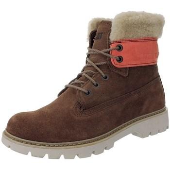 Schuhe Damen Schneestiefel Caterpillar Lookout Fur W Rot, Beige, Braun