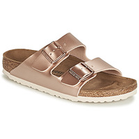 Schuhe Damen Pantoffel Birkenstock ARIZONA Rose / Gold