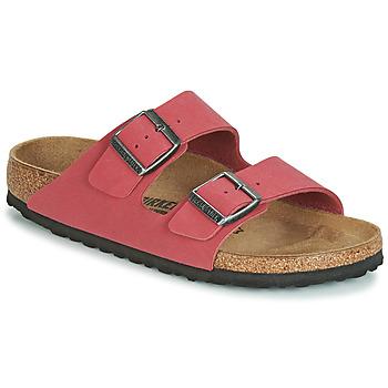 Schuhe Damen Pantoffel Birkenstock ARIZONA Rot