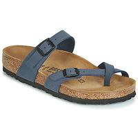 Schuhe Damen Pantoffel Birkenstock MAYARI Marine