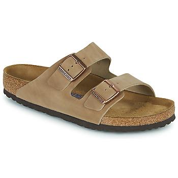 Schuhe Herren Pantoffel Birkenstock ARIZONA SFB Braun