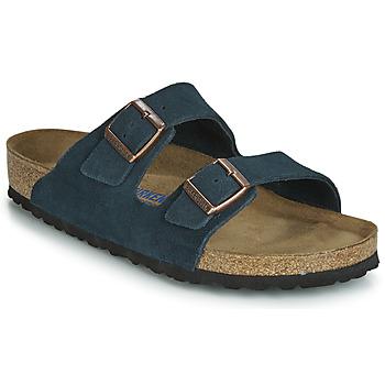 Schuhe Herren Pantoffel Birkenstock ARIZONA SFB Marine