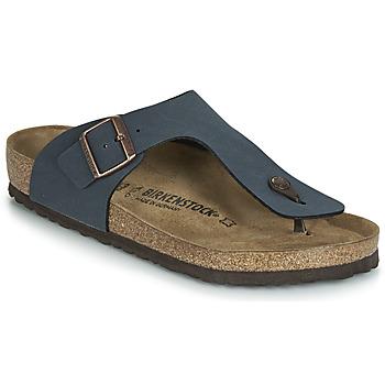 Schuhe Herren Zehensandalen Birkenstock RAMSES Blau