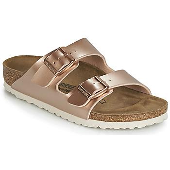 Schuhe Mädchen Pantoffel Birkenstock ARIZONA Gold