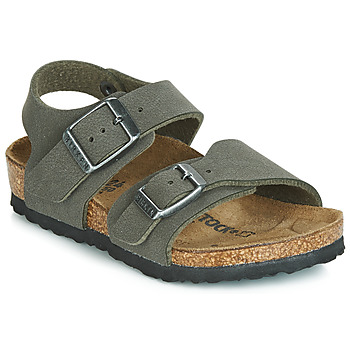 Schuhe Jungen Sandalen / Sandaletten Birkenstock NEW YORK Grau